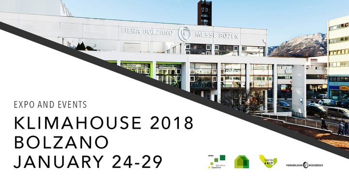 KLIMAHOUSE 2018 | January 24 - 27 | Bolzano